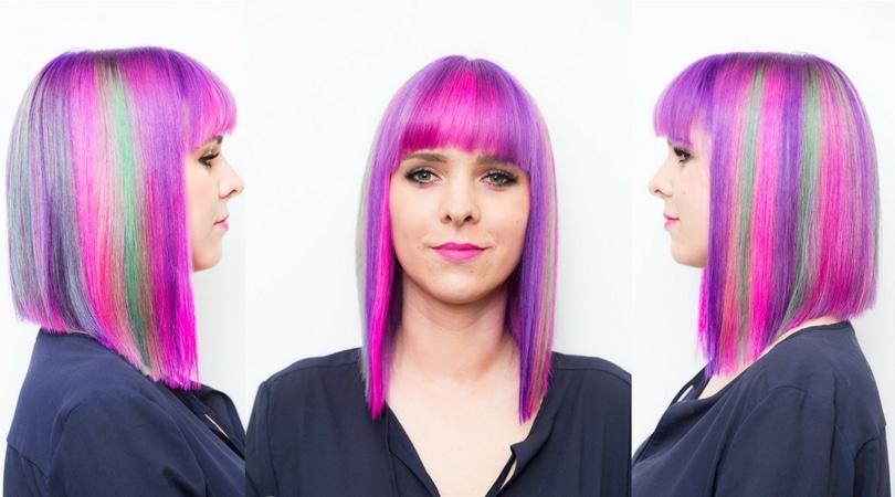 Odważnie i kolorowo, czyli kolory tęczy na włosach