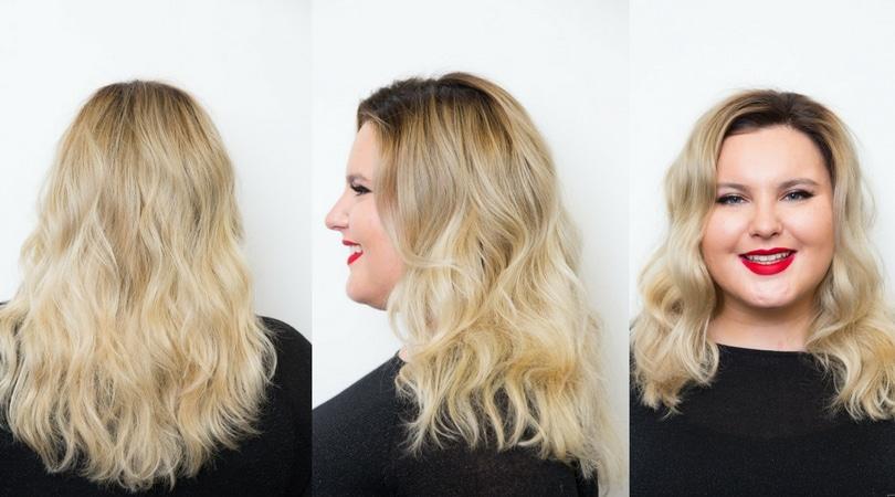 Chłodny blond w wydaniu Milek Design jako propozycja modnej fryzury 2017