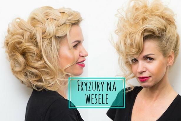 Inspiracje Stylistów Milek Design Fryzury Na Wesele